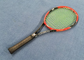 Wilson Pro Staff RF97 with Solinco Hyper-G