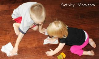 help kids get involved in cleaning