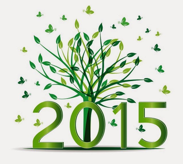 Happy New Year!!!!!  Welcome to 2015: Our Year of Growth!