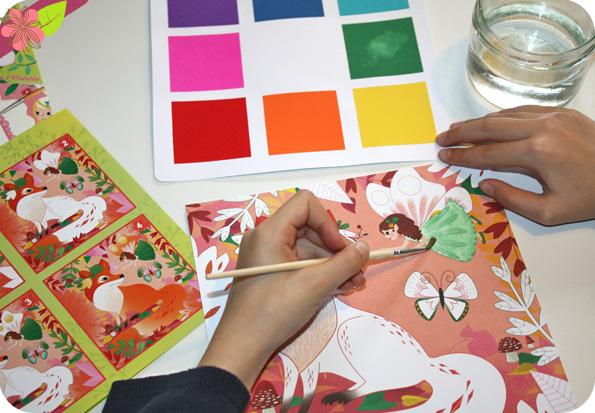Cartes à aquareller - Sophie Rohrbach - Gründ
