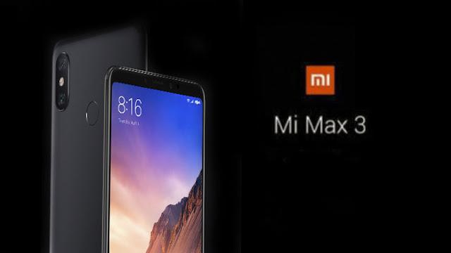 Mi Max 3 India launch date