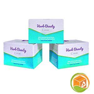 Customized cream boxes