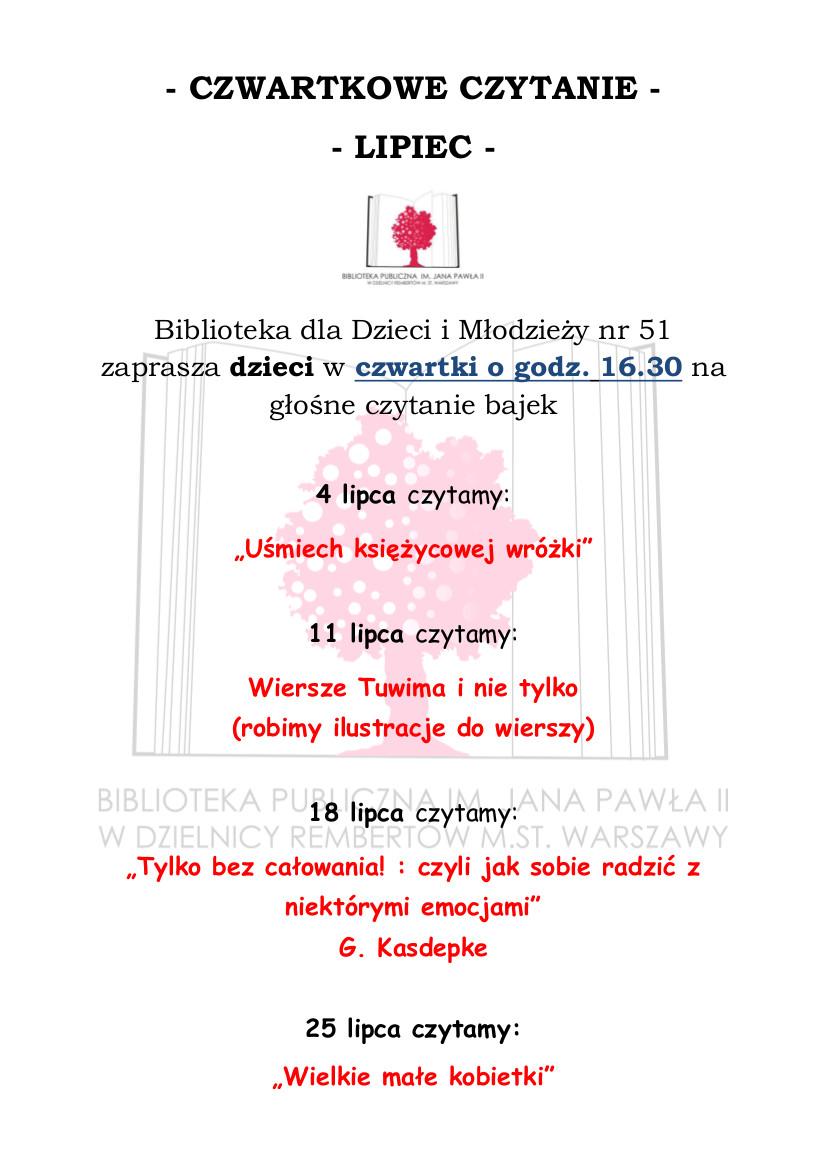 Biblioteka Dla Dzieci I Młodzieży Nr 51 Czerwca 2013