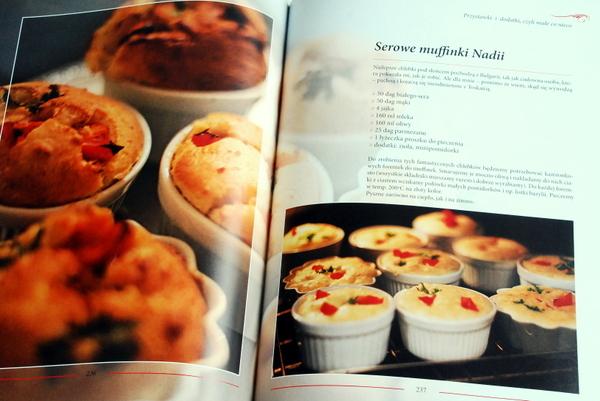 Przepis na serowe muffinki