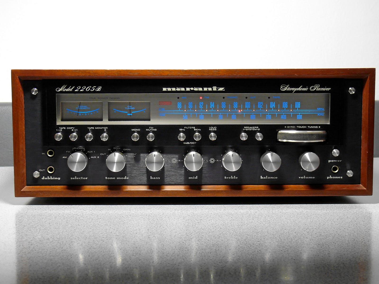 Vintage Stereo Recievers 93