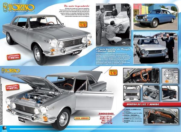 IKA Torino 380W en escala 1/8 colección Argentina