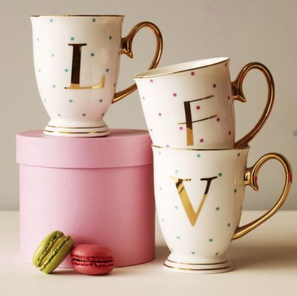 Bombay Duck Spotty Alphabet Mug
