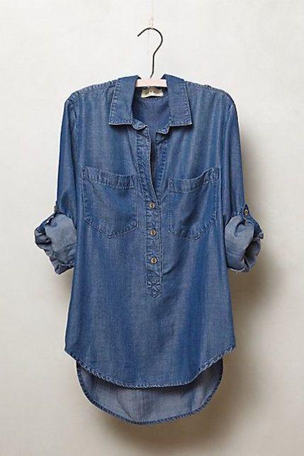 Camicie di jeans, la storia del denim e gli abbinamenti ideali