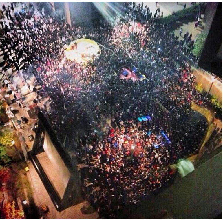 Only in The Republic of Amherst: UMass Riot Aftermath