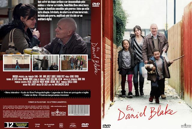 Capa DVD Eu Daniel Blake [Exclusiva]