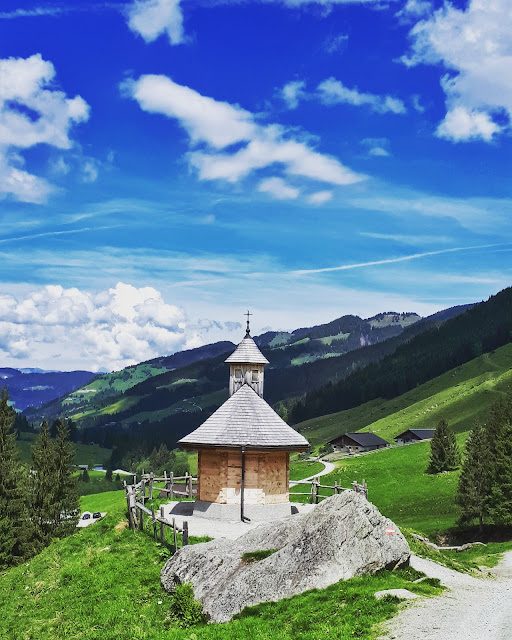 cute little chapel in Wildschönau Tirol Austria