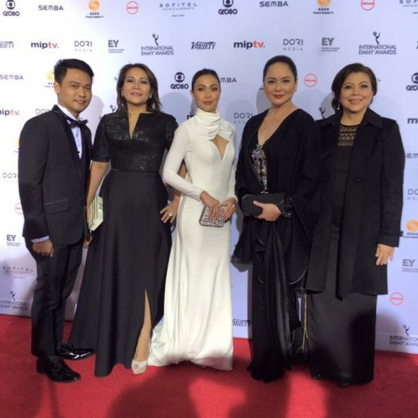 Jodi Sta Maria, Charo Santos at Emmys red carpet