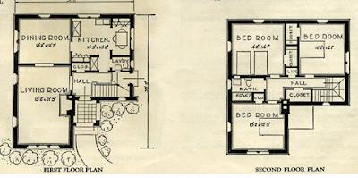sears elmhurst floor plan