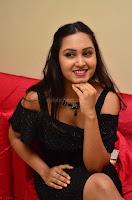 South Actress Amulya in short black dress at Kalamandir Foundation 7th anniversary Celebrations ~  Actress Galleries 064.JPG