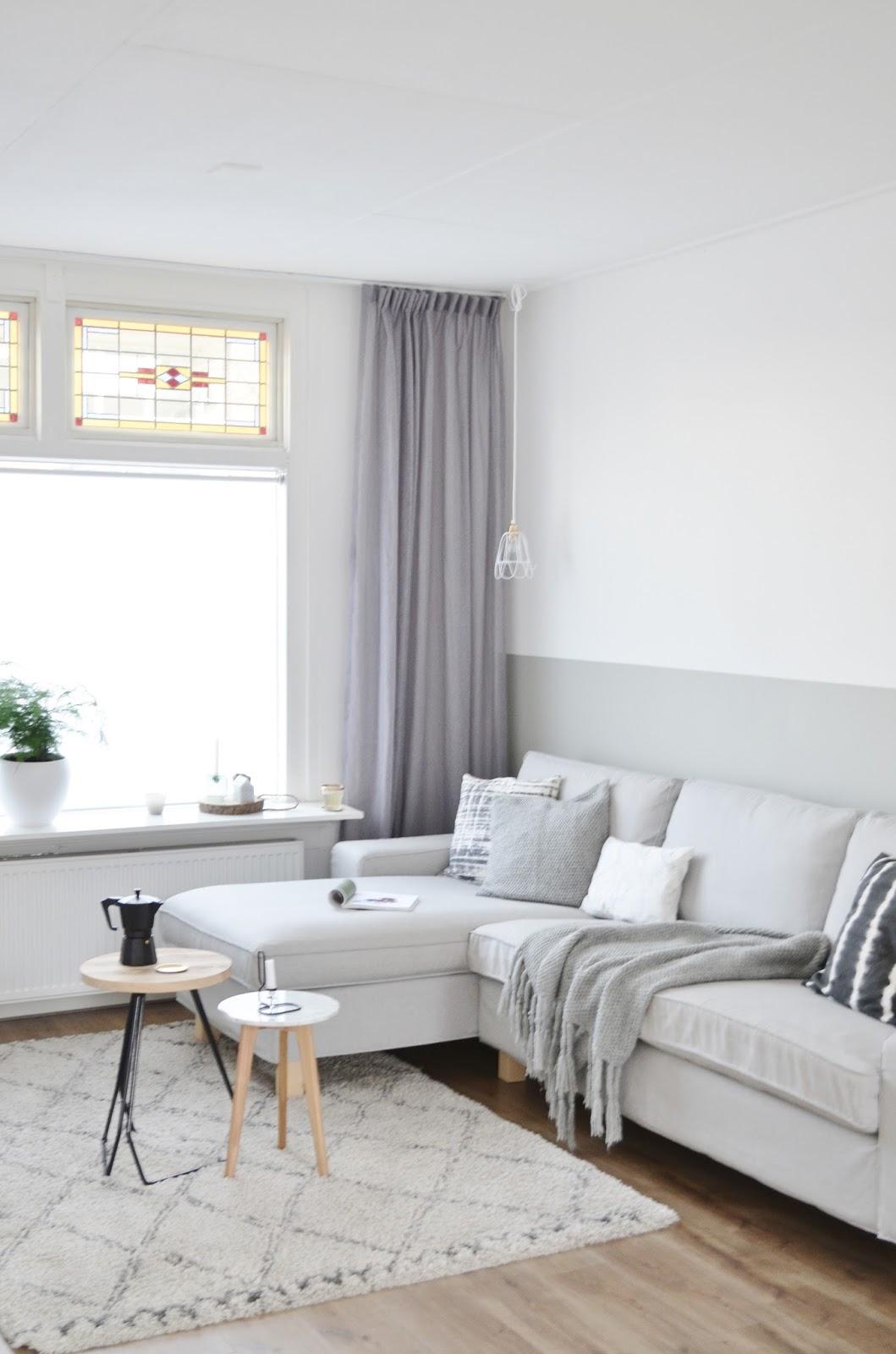 Lambrisering van verf for Welke muur verven woonkamer