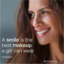 Smile Quotes images:a smile is the best make up a girl can wear