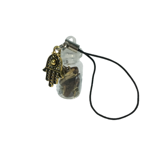 Protection Bottle Keychain Charm