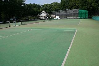テニスコート 整備日のお知らせ