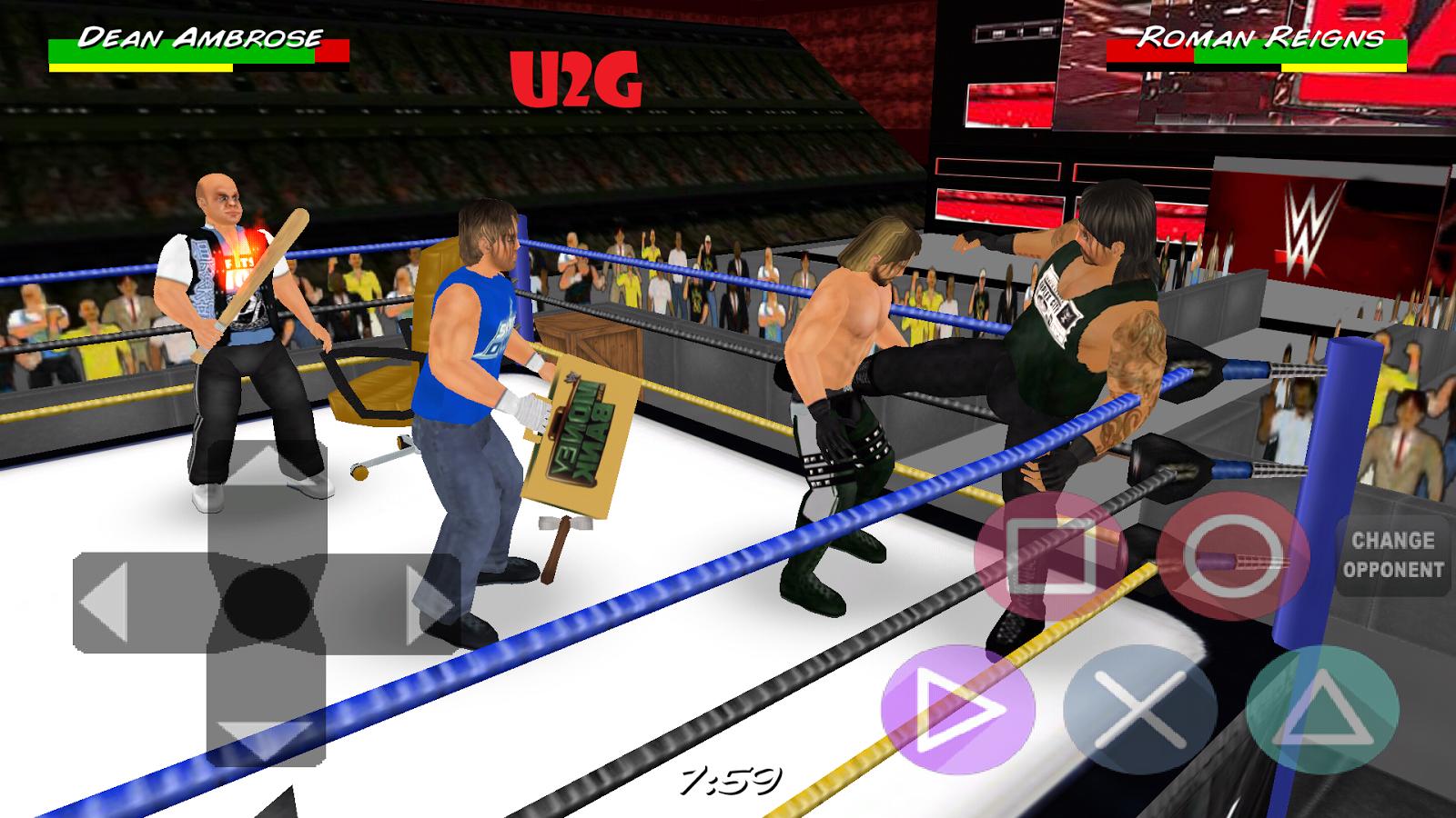 Wrestling Revolution D Exhibition Title Match : Wrestling revolution d wwe k mod mediafire download