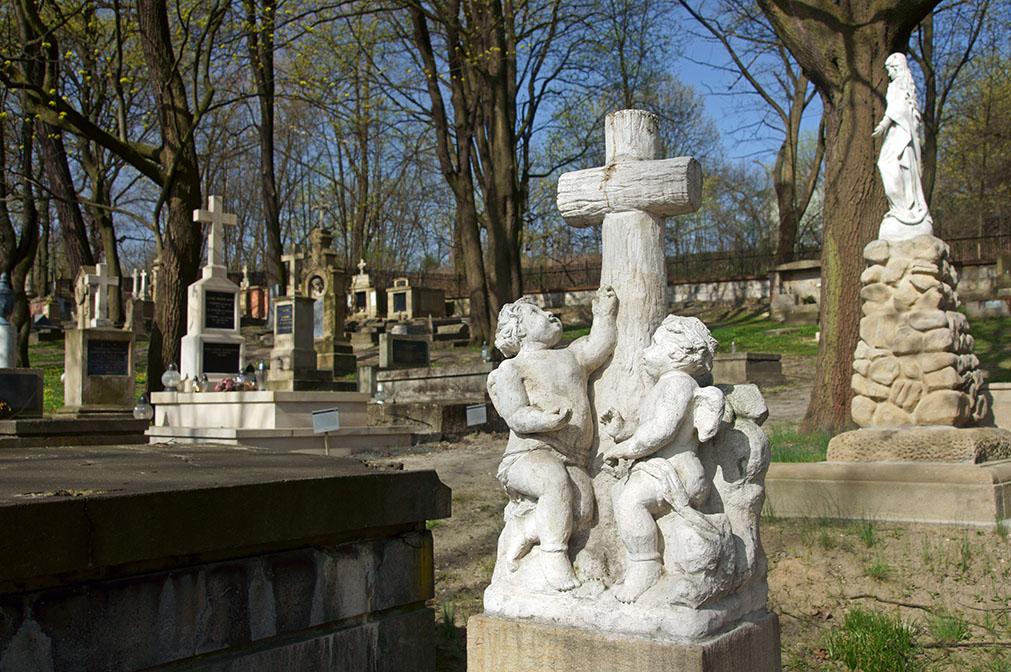 Old Cemetery of Podgorze, Krakow