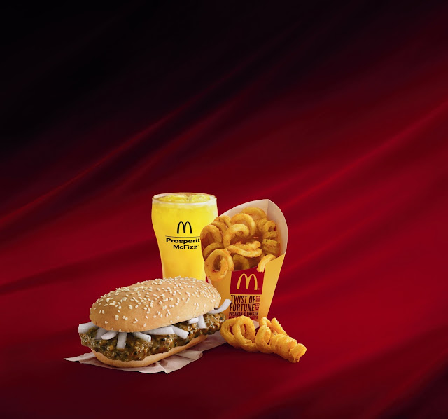 McDonald's Prosperity Meal, Order It for a Good Cause