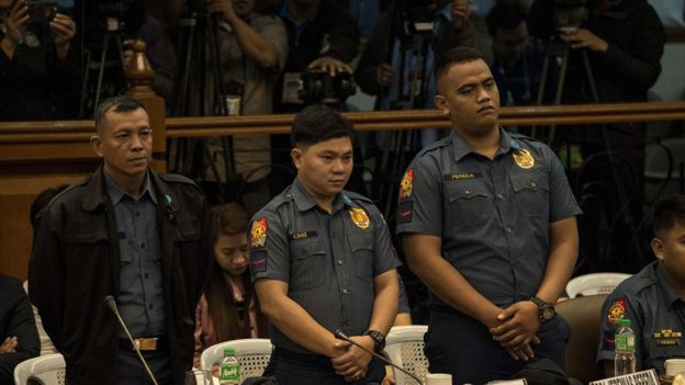 Three Philippine Cops Arraigned Found Guilty Of High-Profile Murder Of Teenager