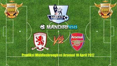 AGEN BOLA - Prediksi Middlesbrough vs Arsenal 18 April 2017