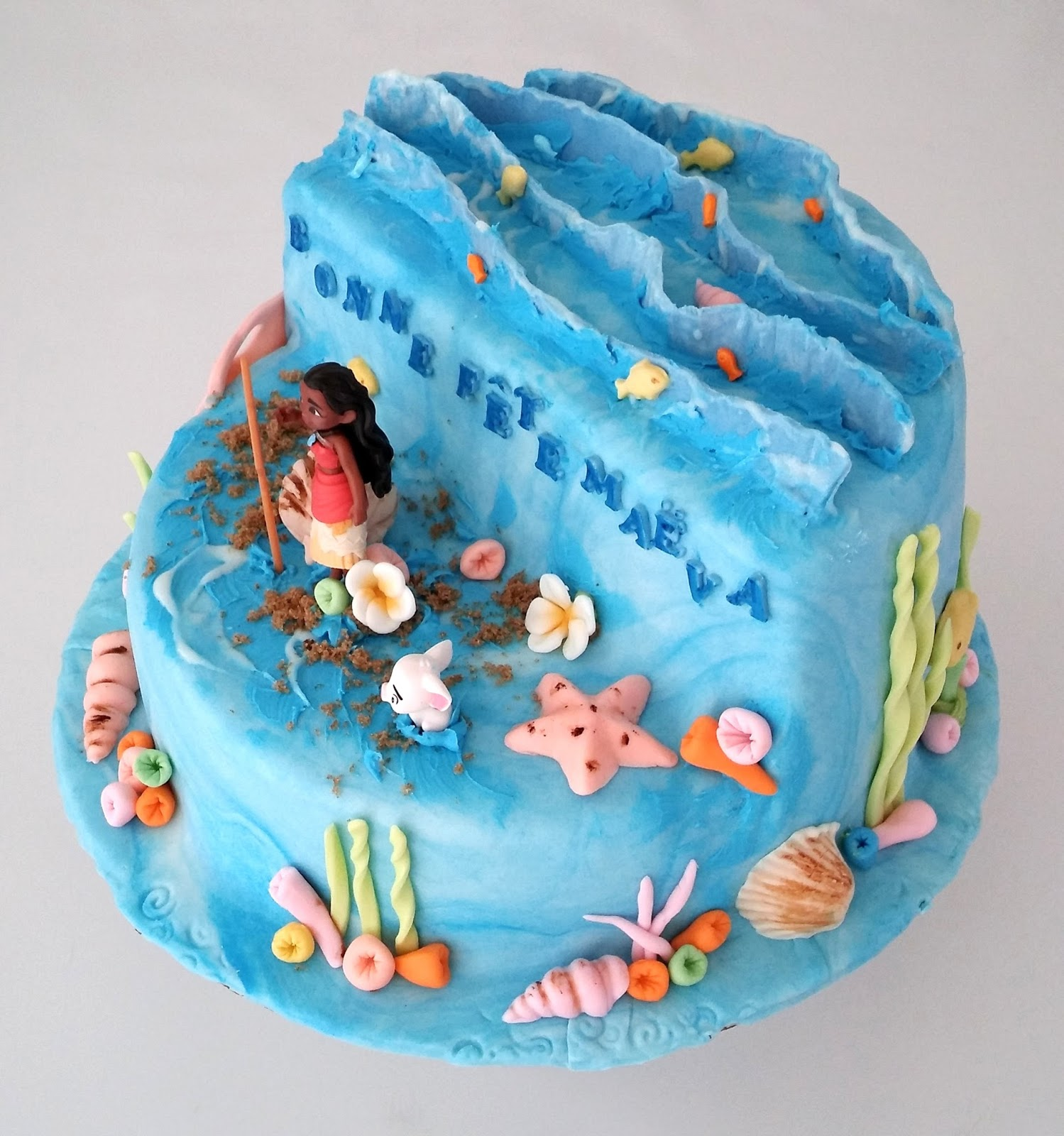 CakeSophia Moana cake for Maevas birthday