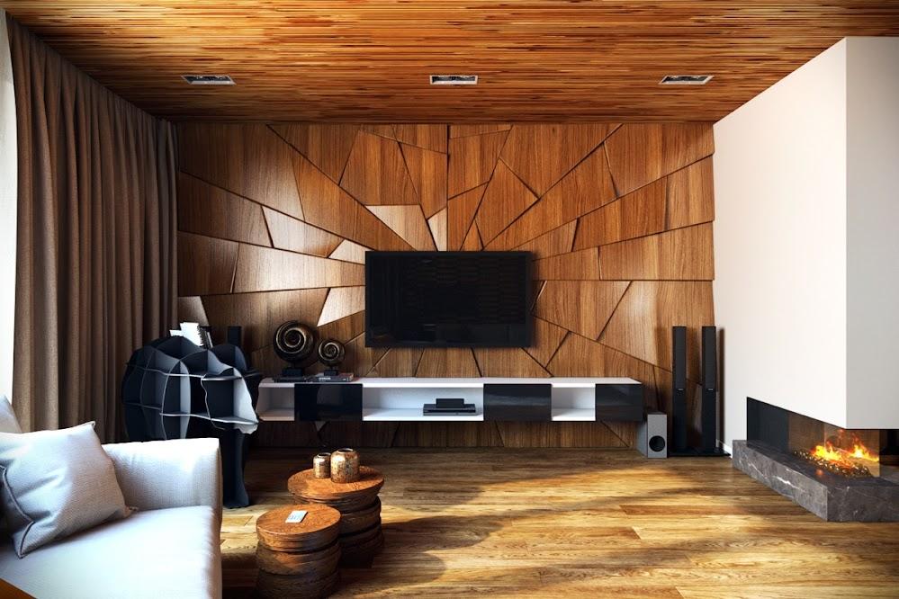artistic-living-room-wall-panels