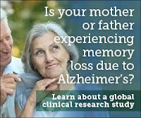Is you loved one experiencing memory loss?