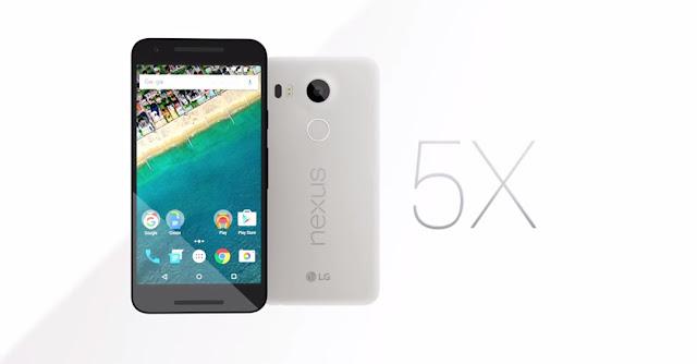 Banner dello smartphone LG Nexus %X