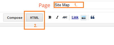 Blogger Sitemap Demo Image