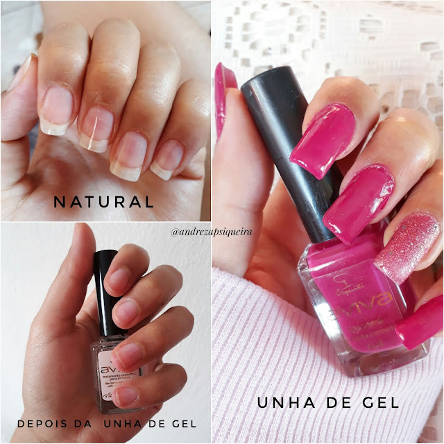 unhas de gel e similares