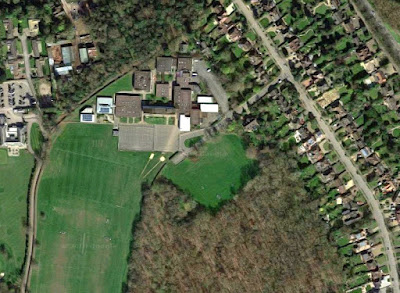 Screen grab of a Google Maps image of Chancellor's School taken in May 2018