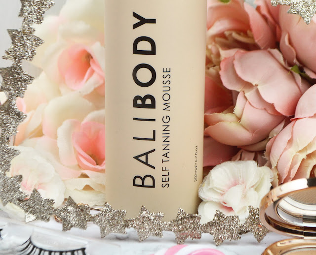 Bali Body Tanning Mousse in Dark review, Lovelaughslipstick Blog