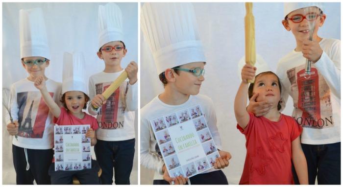 libro montessori Cocinando en familia, cocina para niños fácil