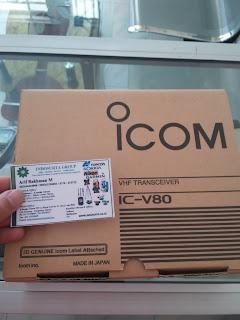 JUAL RADIO HT ICOM V80 DI BATAM