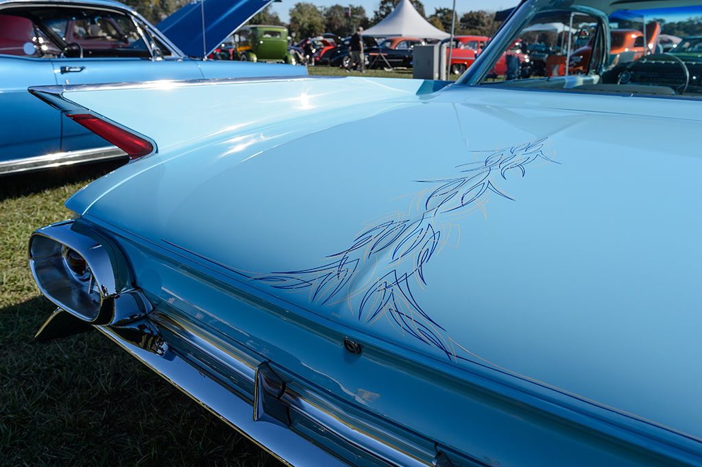Rear View of Ed Szymansky's 1961 Cadillac Coupe de Ville