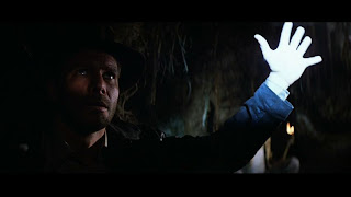 Raiders of the Lost Ark tomb stay out of the light
