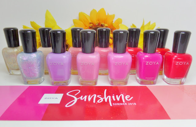 zoya sunshine summer 2018