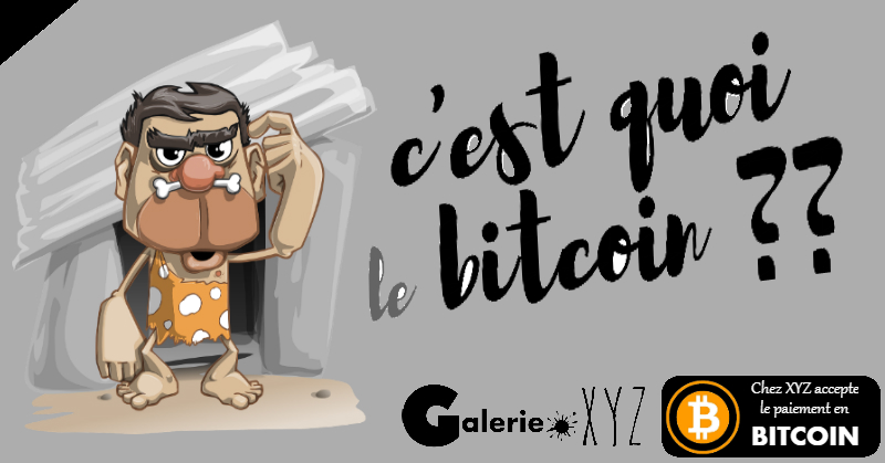 Galerie XYZ accepte le bitcoin