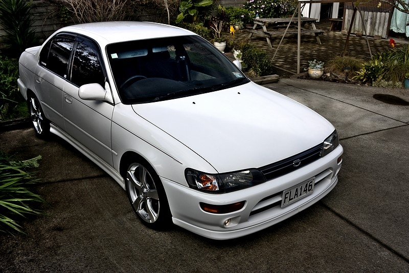 Modified Cars: Toyota Corolla 1993 Modified