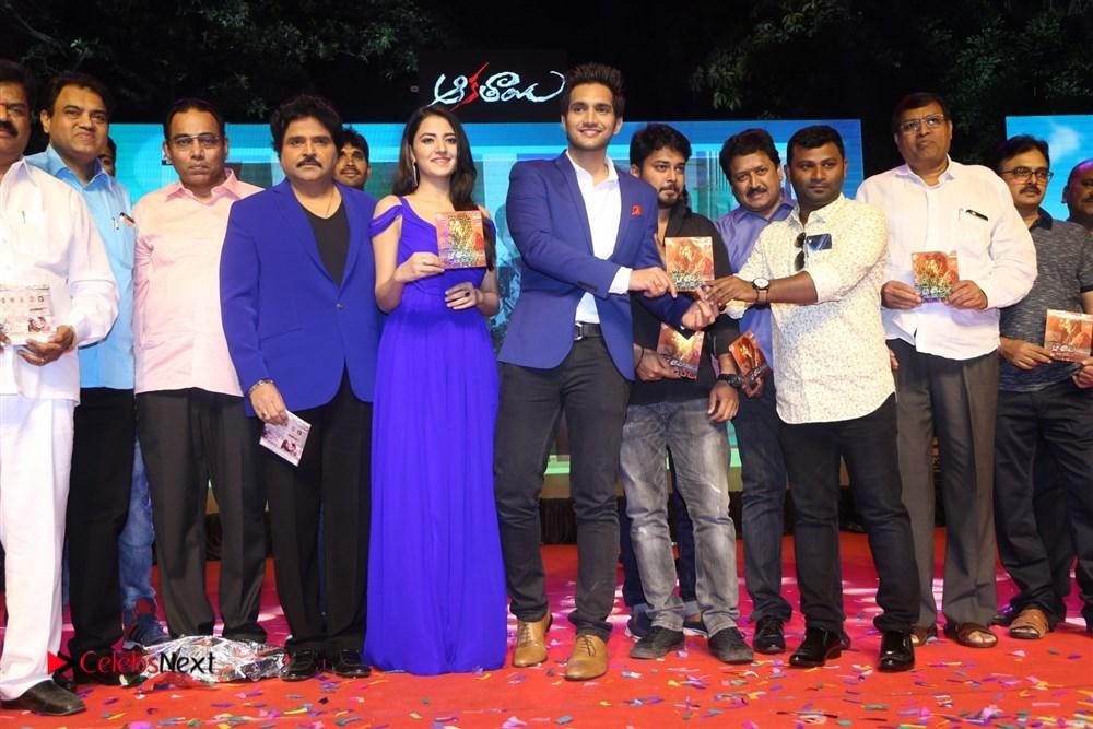 Aakatayi Telugu Movie Audio Launch Stills
