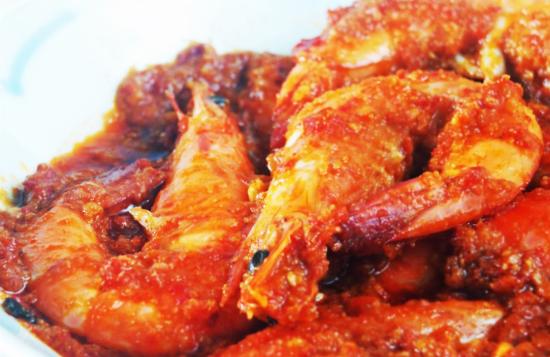 Resep udang sambal kuah pedas Mantap