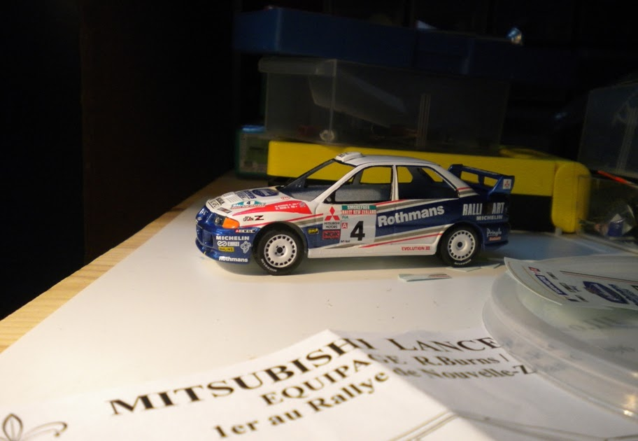 Diecasts In The Rough Mitsubishi Lancer Evo Iii Rothmans