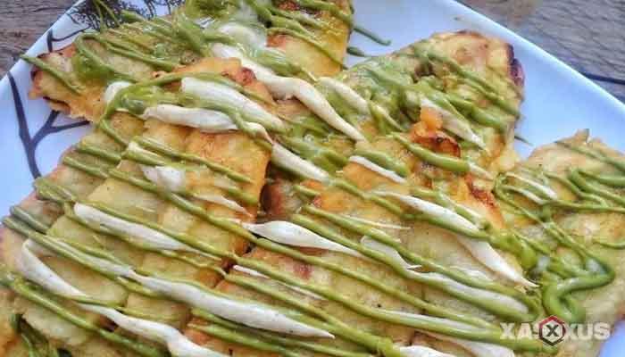 Resep cara membuat pisang goreng greentea & tiramisu glaze