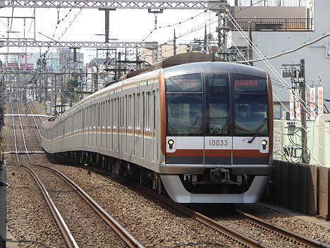 東急東横線 副都心線・西武池袋線直通 特急 西武球場前行き3 東京メトロ10000系