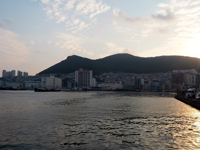 Harbour view from Nampo-dong, Busan, South Korea