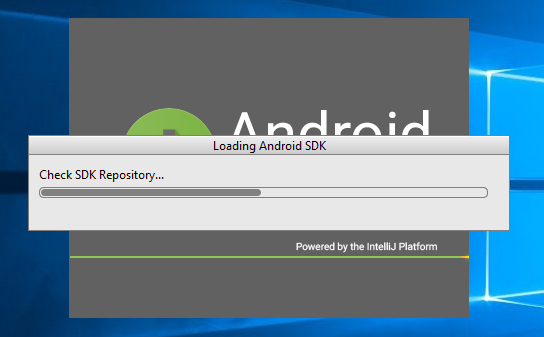 10. android studio installation selecct SDK download