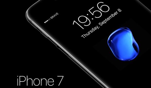 3 MockUp de iPhone 7 en formato PSD